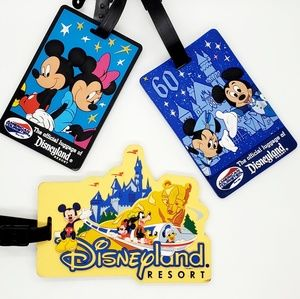 🆕️Disneyland Resort•set of 3•id/luggage bag tags